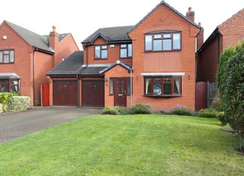 Thumbnail 4 bedroom detached house to rent in Hazelwood Close, Cheslyn Hay, Walsall
