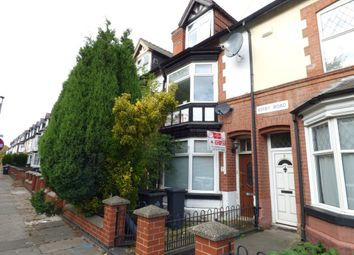 Thumbnail 6 bed terraced house for sale in Kirby Road, Leicester