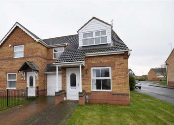 Thumbnail 3 bed semi-detached house to rent in Bowmont Way, Kingswood, Hull