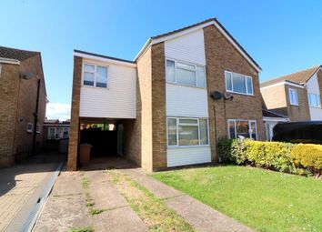 Thumbnail 3 bed semi-detached house for sale in Telscombe Way, Luton, Bedfordshire