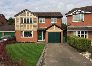 Thumbnail 4 bedroom detached house to rent in Jasmin Close, The Rock, Telford