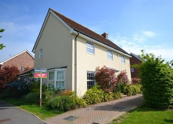 Thumbnail 4 bed detached house to rent in Warwick Road, Priors Green, Little Canfield