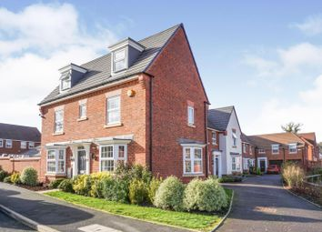 Thumbnail 4 bed detached house for sale in Kiln Lane, Dickens Heath, Solihull