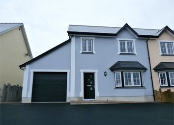 Thumbnail 3 bed semi-detached house for sale in Caerwgan, Aberbanc, Newcastle Emlyn
