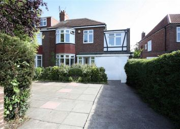 Thumbnail 4 bed semi-detached house for sale in Cheviot View, Ponteland, Newcastle Upon Tyne