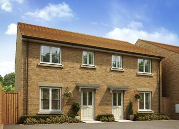 "Thumbnail 3 bed semi-detached house for sale in ""The Flatford - Plot 230"" at Purton, Swindon"