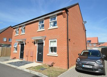Thumbnail 2 bed semi-detached house for sale in Thomas Way, Horsford, Norwich, Norfolk