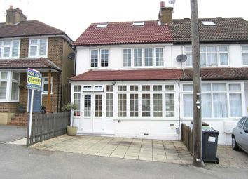 Thumbnail 4 bed semi-detached house for sale in Clapgate Road, Bushey