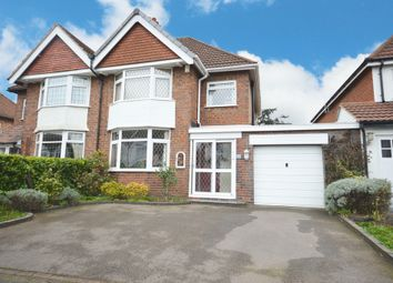 Thumbnail 3 bed semi-detached house for sale in Burman Road, Shirley, Solihull