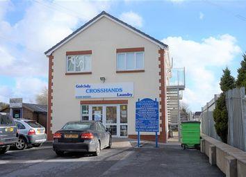 Thumbnail 1 bed flat to rent in Llandeilo Road, Cross Hands, Llanelli