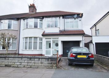 Thumbnail 4 bed semi-detached house for sale in Cooper Avenue North, Liverpool