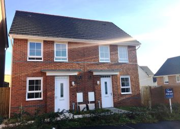 Thumbnail 2 bedroom semi-detached house for sale in The Ashford, Loughor Road, Gorseinon