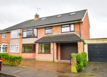 Thumbnail 5 bed semi-detached house for sale in Rochester Road, Burham, Rochester