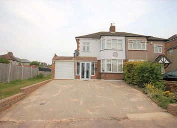 Thumbnail 3 bed semi-detached house for sale in Ashvale Gardens, Upminster