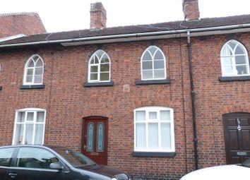 Thumbnail 1 bedroom terraced house to rent in London Street, Leek