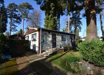 Thumbnail 2 bedroom mobile/park home for sale in Woodland Rise, Grange Estate, Church Crookham, Fleet