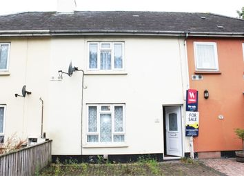 Thumbnail 2 bed terraced bungalow for sale in Oakleigh Road, Barnstaple, Devon