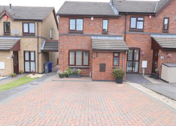 Thumbnail 3 bed semi-detached house for sale in Dovecote Place, Lightwood