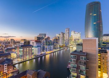 Thumbnail 2 bed flat for sale in Turnberry Quay, Canary Wharf