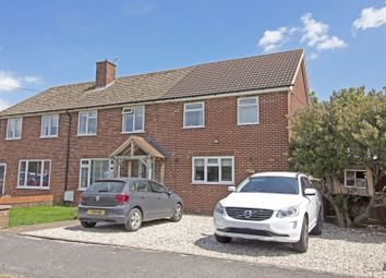Thumbnail 4 bed semi-detached house for sale in The Croft, West Hanney Wantage