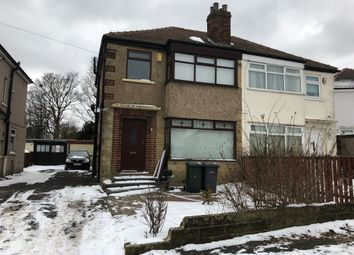 Thumbnail 3 bed semi-detached house to rent in Silwood Drive, Bradford