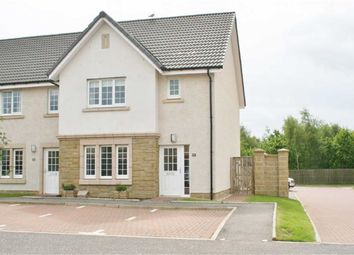 Thumbnail 3 bed end terrace house for sale in Crown Crescent, Larbert, Stirlingshire