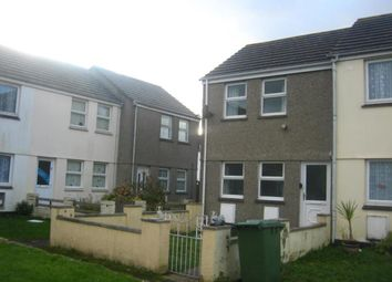 Thumbnail 2 bed end terrace house to rent in Normandy Way, Camborne, Cornwall