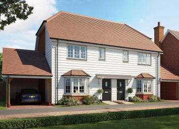 Thumbnail 2 bed semi-detached house for sale in Rye Road, Hawkhurst, Kent