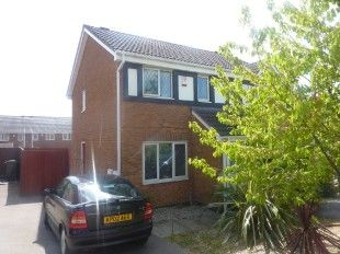 Thumbnail 2 bed semi-detached house to rent in Stratfield Way, Kettering, Northants