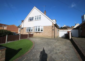 Thumbnail 2 bed semi-detached house for sale in Russet Way, Hockley