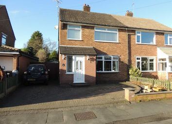 Thumbnail 3 bed semi-detached house for sale in Bowerfield Avenue, Hazel Grove, Stockport