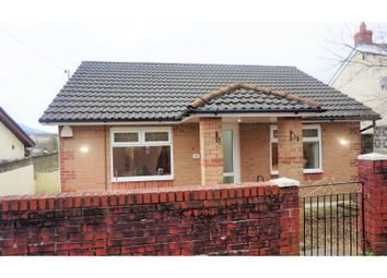 Thumbnail 3 bed detached bungalow for sale in Waungron, Glynneath