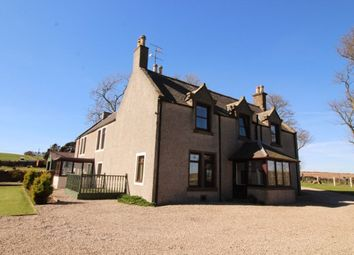 Thumbnail 5 bedroom detached house to rent in Fernieflatt Farmhouse, Kinneff, Montrose
