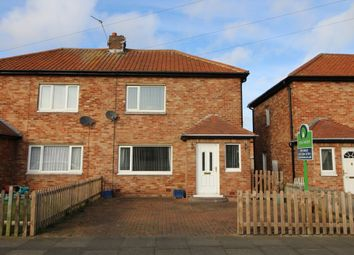 Thumbnail 2 bedroom semi-detached house for sale in Fern Drive, Dudley, Cramlington