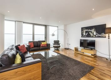 Thumbnail 3 bed flat to rent in The Landmark, Canary Wharf