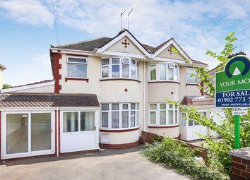 Thumbnail 3 bed semi-detached house to rent in Warren Avenue, Wolverhampton
