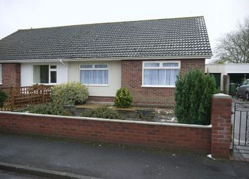 Thumbnail 2 bed semi-detached bungalow to rent in Leigh Furlong Road, Street