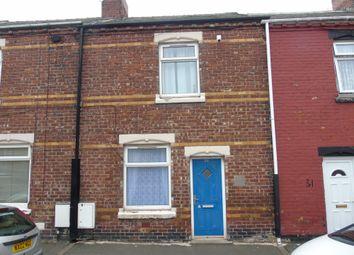 Thumbnail 2 bedroom terraced house for sale in Warren Street, Horden, Peterlee