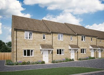 Thumbnail 2 bedroom end terrace house for sale in Bartlett Close, Charlbury
