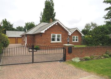 Thumbnail 3 bed detached bungalow for sale in Vicarage Lane, Long Sutton, Spalding