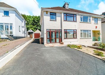 Thumbnail 3 bed semi-detached house for sale in Leighton Road, Plymouth