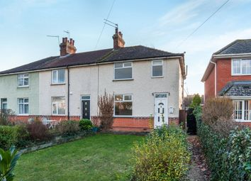 Thumbnail 3 bedroom end terrace house for sale in Newmarket Road, Bury St. Edmunds