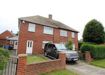 Thumbnail 3 bed semi-detached house for sale in Deneside, Seghill, Cramlington