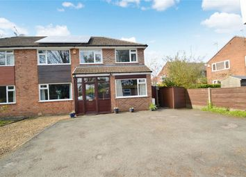 Thumbnail 4 bed semi-detached house for sale in Castle Farm Drive, Mile End, Stockport, Cheshire