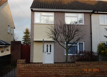 Thumbnail 3 bed semi-detached house to rent in Wordsworth Avenue, Stafford, Staffordshire