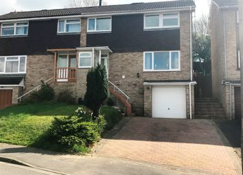 Thumbnail 3 bed semi-detached house for sale in Windrush, Highworth, Swindon