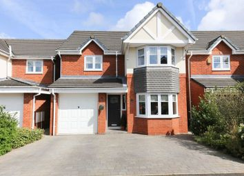 Thumbnail 4 bedroom detached house for sale in Wood Green Gardens, Orrell, Wigan