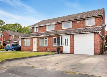 Thumbnail 3 bed semi-detached house for sale in Lakenheath Drive, Sharples, Bolton BL1. 3 Double Bedrooms, Family Home