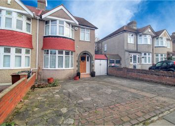Thumbnail 4 bed semi-detached house for sale in Chastilian Road, Dartford