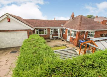 3 bed detached bungalow for sale in Meadow Road, Brown Edge, Staffordshire ST6